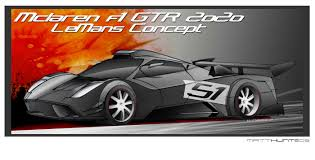mclaren f1 drawing mclaren f1 gtr 2020 lemans concept by matt hunt at coroflot com