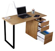 Computer Desk With Filing Cabinet by Amazon Com Techni Mobili Rta 1305 Pn Modern Computer Desk With