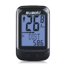 suaoki wireless 2 4ghz transmission bike cycling computer with