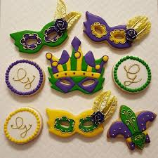 mardi gras cookie cutters 54 best mardi gras cookies images on decorated cookies