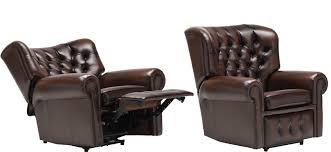 electric leather recliner chair home interior furniture