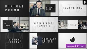 videohive minimal promo after effects templates free after