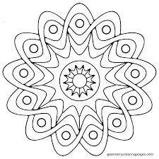 mandala coloring pages easy printable kids theotix