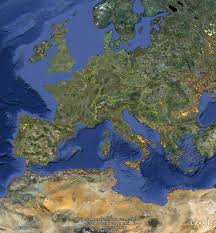 Europe Google Maps by The Pleasures And Frustrations Of Combining Biodiversity Data