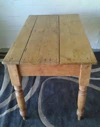 Old Farmhouse Antique Pine Kitchen Table Hall Table Cottage - Old kitchen table