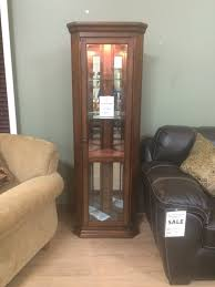 black corner curio cabinet with light best cabinet decoration