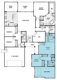 house plans with apartment attached house with 3 car garage and in apartment multi
