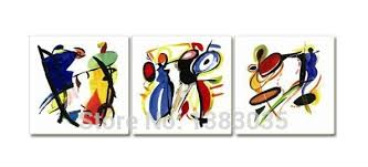 themed paintings painted abstract note musical instruments paintings on canvas