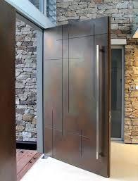 Main Door Simple Design Front Doors Free Coloring Aluminium Front Door Design 14