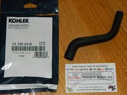 kohler engine genuine kohler breather tube hose 1232603 s cv11
