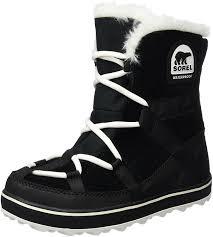 sorel womens boots canada sorel s glacy explorer shortie ankle boots amazon co uk