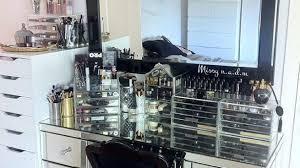 Amazing Interior Design Ideas Make Up Vanities Amazing Vanity Set Brilliant Glass Makeup