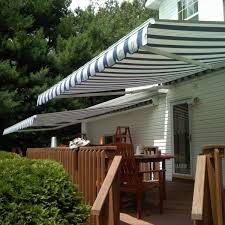 Outdoor Retractable Awnings Retractable Awning Custom Made In Nj