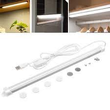 led kitchen cupboard cabinet lights 32cm 5w usb led rigid bar light kitchen cupboard cabinet l with switch