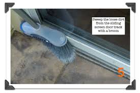 Replacement Screen For Patio Door by Sliding Screen Doors How To Remove Clean U0026 Tune In Under 10 Minutes