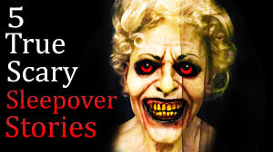 scary halloween stories 5 true scary sleepover horror stories spooky pinterest