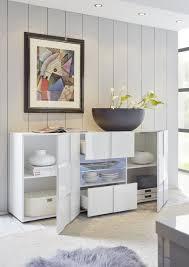 Wohnzimmerschrank Bei Ebay Lc Classico Sideboard Anrichte Schrank Kommode Dama In Weiß Echt