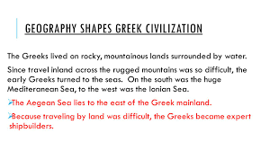 Map Of Ancient Greece And The Aegean World by Chapter 8 Ancient Greece Section 1 Geography And The Early