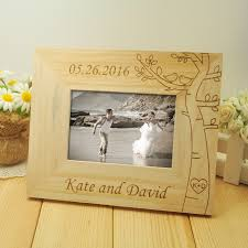 wooden wedding gifts personalized wedding photo frame wooden wedding pictures