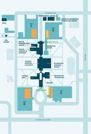 Cleveland State University Map by West Map With Bike Racks Jpg