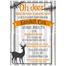 woodland baby shower invitations oh deer woodland baby shower invitation neutral on storenvy