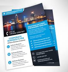 brochure design templates free psd 47 free psd flyer templates