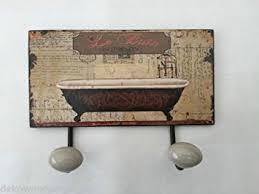 le für badezimmer haken handtuchhalter le bain badezimmer vintage de