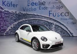 new volkswagen beetle 2016 volkswagen beetle r line and denim headed to production