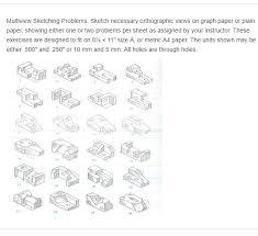 multiview sketching problems sketch necessary ort chegg com
