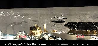 Color Dec 1st 360 Degree Color Panorama From China U0027s Chang U0027e 3 Lunar Lander