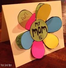 Mothers Day 2017 Ideas Diy Mother U0027s Day 2017 Mother U0027s Day Flip The Flap Flower Card