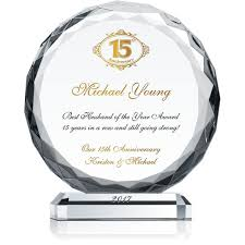 anniversary gift ideas for husband 15th anniversary gift idea for husband wording sle by