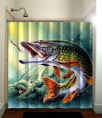 Fishing Shower Curtain Shower Curtain Fatboy Studio Part 82