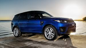 blue land rover picture land rover sport blue automobile 1920x1080