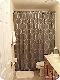 shower curtain ideas for small bathrooms bathroom ideas with shower curtain cumberlanddems us