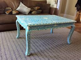 Coffee Table Decor Tray by Coffee Table Cool Blue Coffee Table Blue Coffee Table Set Blue