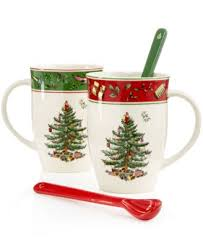 spode dinnerware tree cafe mug china macy s