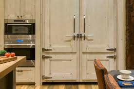 rustic hardware for kitchen cabinets hard maple wood natural amesbury door rustic kitchen cabinet