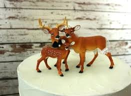 deer cake topper deer cake toppers for wedding buck and doe heart collection s