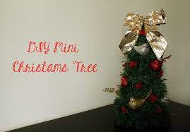 diy mini christmas tree endeavors of a