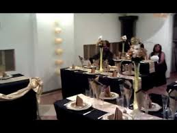 gold and black decoration