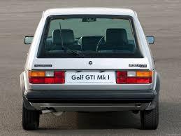 volkswagen golf i gti 1976 pictures information u0026 specs