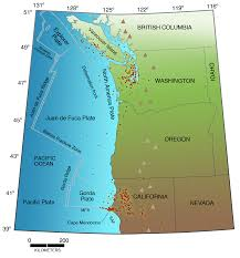 Pacific Northwest Map Living With Earthquakes In The Pacific Northwest