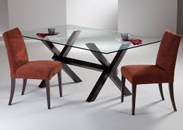 Remarkable Glass Top Dining Tables Glass Top Dining Room Tables Rectangular
