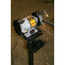 black bull 6 inch electric bench grinder coarse medium dual wheel