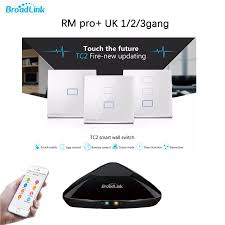 wifi controlled light switch broadlink tc2 uk standard 1 2 3 gang 1 way wifi controlled touch