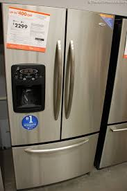 refrigerators home depot black friday lg french door refrigerator home depot