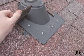 cutting a hole in your roof u2013 installing a vent pipe u2013 diy old