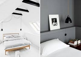 Light Bedroom It S Hip To Hang Bedside Lighting Design