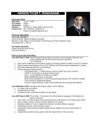 Format Resume Charming Ideas Official Resume Format Exciting Example For High